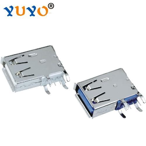 A母侧插长体式(USB-A-09F)