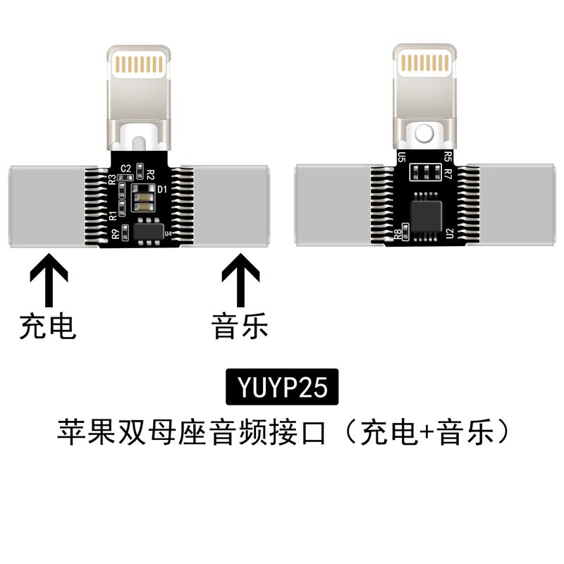 8P一体式音频插头YUYP25