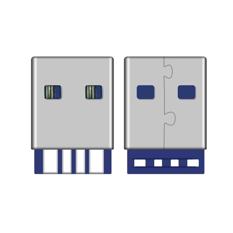 USB A公焊线式5A充电用1