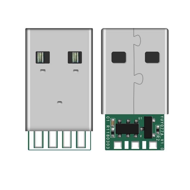 USB A公 YUYO77A