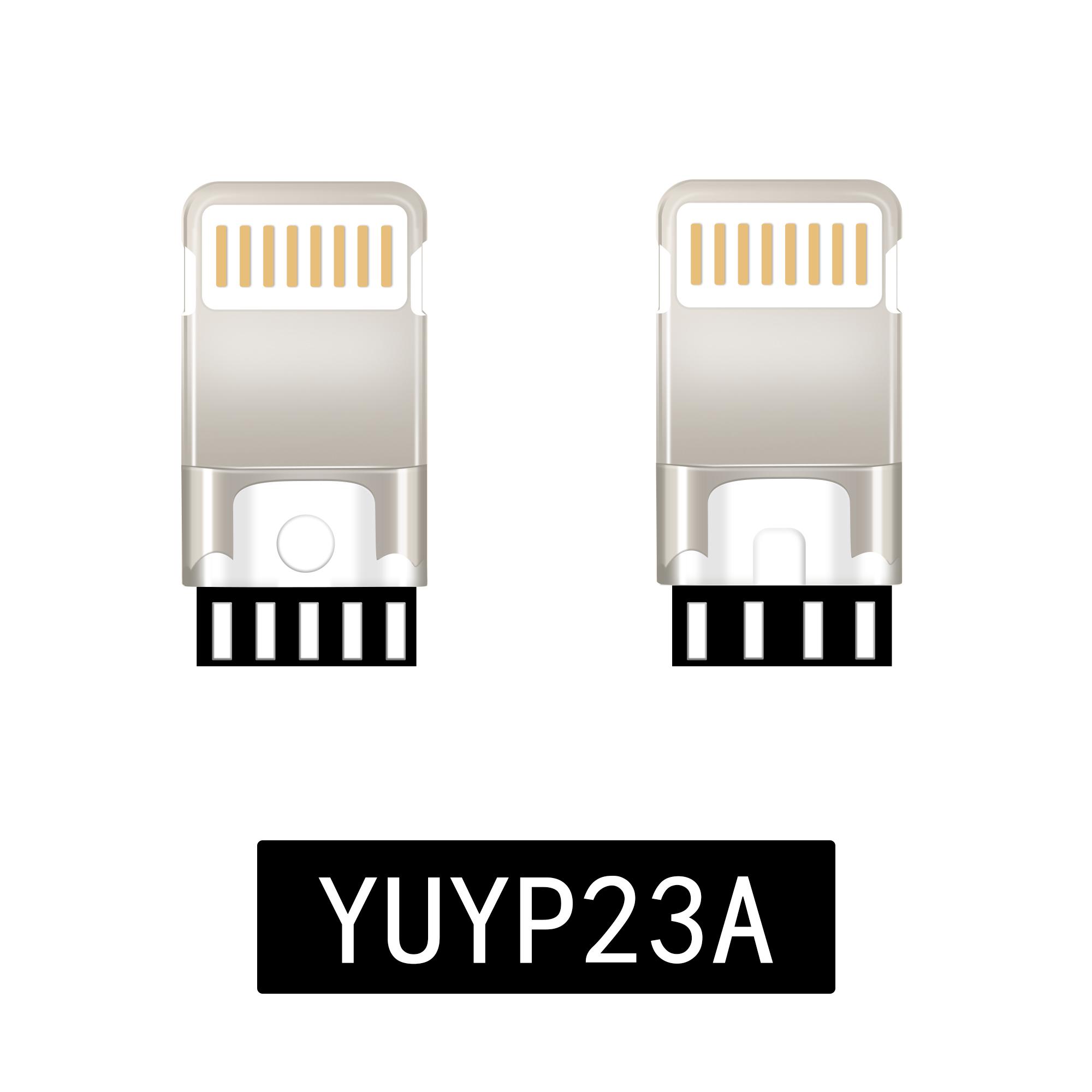 8P一体式转接头插头YUYP23A