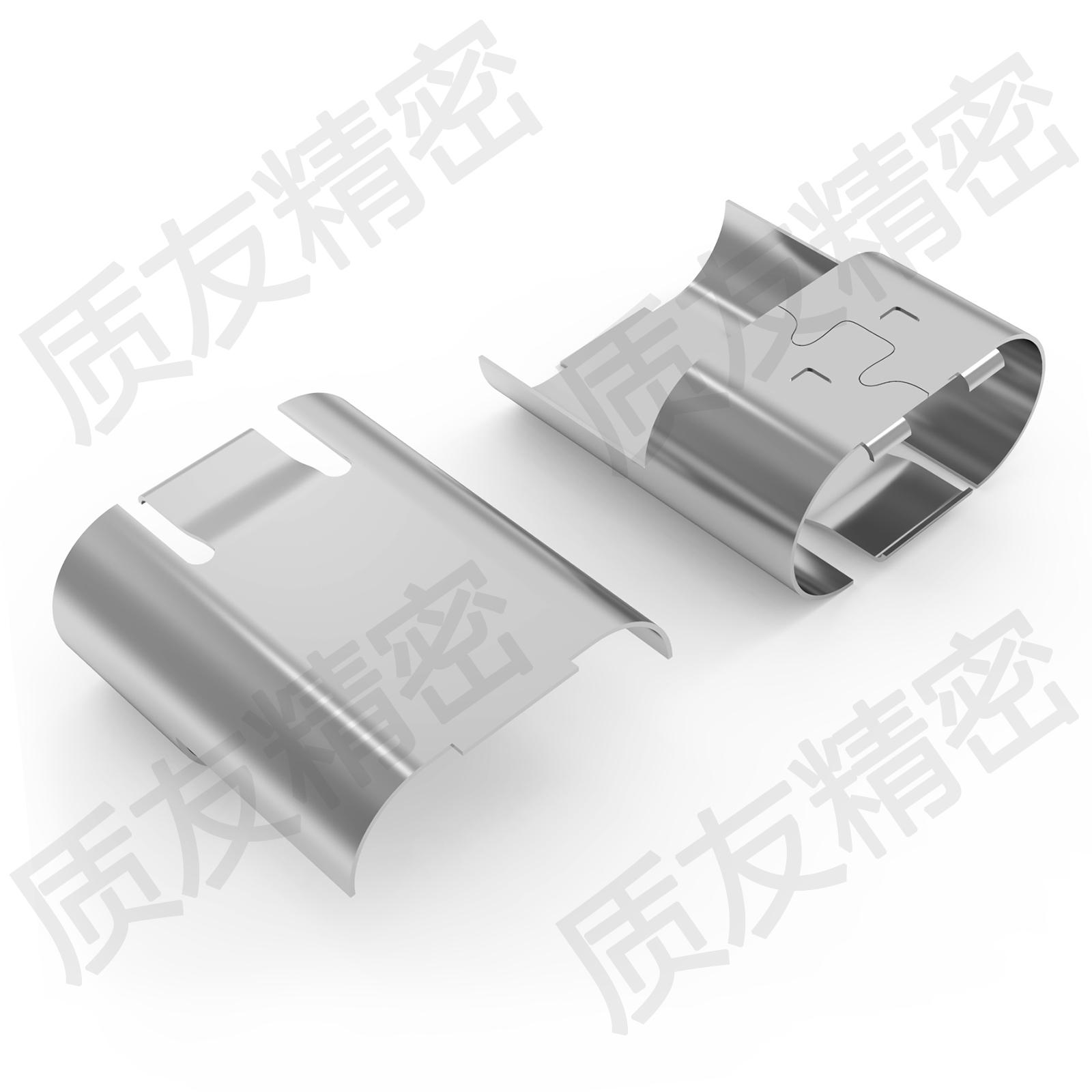 苹果8p一体插头YUYO83S7屏蔽壳